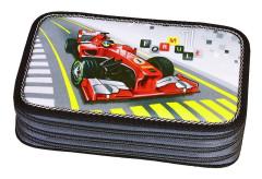 Školní pouzdro 3-patra Formule Racing prázdné Emipo
