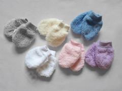 Rukavičky pro novorozence wellsoft Babyservice