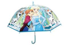 Deštník Frozen manuální průhledný
