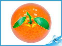 Míč 23cm pomeranč 10m+
