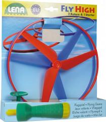 Vystřelovací vrtulky 20cm 2ks + startér plast v sáčku