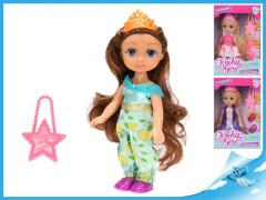 Panenka princezna 15 cm s doplňky