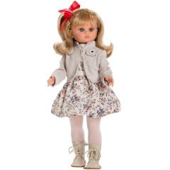 Luxusní dětská panenka-holčička Berbesa Laura 40cm