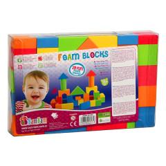 Kostky pěnové 29ks v plastové krabičce od 18měsíců