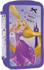Školní penál 2 patrový plný Locika Rapunzel