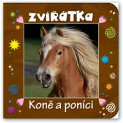 Knížka Zvířátka - Koně a poníci