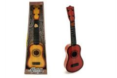 Kytara 4 struny (ocelové) + trsátko plast 54cm