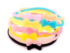 Svítící silikonové gumičky 1ks