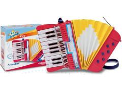 Tahací harmonika se 17 klávesami