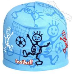 Funkční čepice jarní modrá fotbal RDX