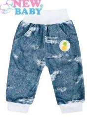 Kojenecké tepláčky New Baby Light Jeansbaby bílé