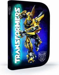 Penál 1patrový s chlopní Transformers PLNÝ černo-modrý NEW 2017