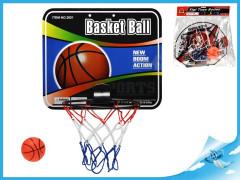 Basketbalový koš s míčem 9cm