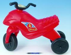 Odrážedlo Superbike 4 maxi červené