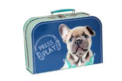 Dětský kufřík 30 cm Blue Ray tmavě-modrý