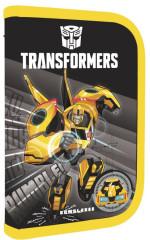 Jednopatrový penál plný Transformers ŽLUTÝ