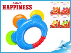 Chrastítko 12cm Baby\'s Happiness 3m+
