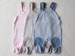 Polodupačky s laclem PRUH vel. 56 - 74 Baby Service