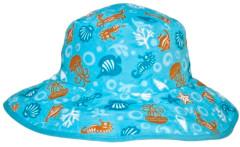Dětský UV klobouček Baby Banz moře tyrkysový oboustranný 2–5 let