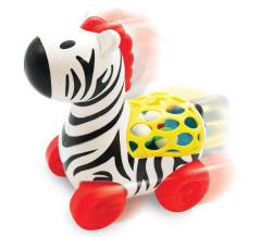 Zebra s balónky