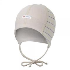Čepice smyk zavazovací Outlast ® PRUH SV. HNĚDÝ