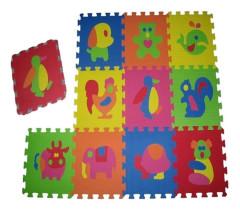 Pěnové puzzle zvířátka 9 ks