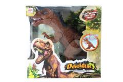 Dinosaurus T-Rex chodící se zvuky