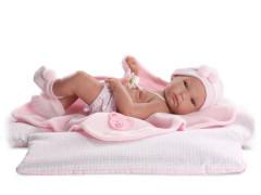 New Born holčička s doplňky