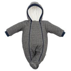 Zimní podšitá kombinéza s kapucí Baby Service