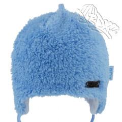 Zavazovací čepice podšitá bavlnou zdobená plíškem Modrá RDX