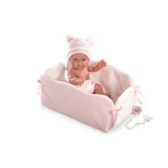 Panenka - New Born holčička s růžovou čepičkou 26 cm