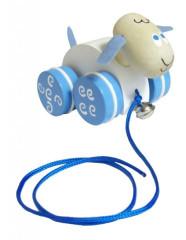 Tahací ovce - dřevěná hračka