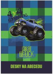 Desky na abecedu Truck