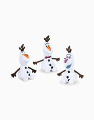 Frozen sněhulák Olaf plyšový 30cm sedící 3druhy 0m+