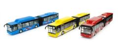 Autobus kloubový - model 1:43 na setrvačník