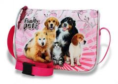 Dívčí kabelka Family pets