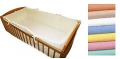 Ochranný límec 100% bavlna okolo celé postýlky 350x25cm