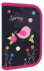 Penál 1patrový 2 chlopně Premium Spring