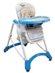 Jídelní židlička Baby Mix blue