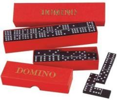Domino 55 kamenů, dřevěné Detoa