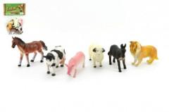 Zvířátka farma plast 6ks v sáčku