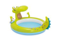 Bazének krokodýl s vodopádem 198x160x91cm