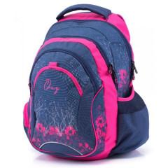 Anatomický batoh OXY Fashion Pink Flowers