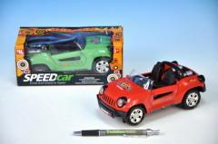 Auto plast 19cm narážecí - zelené