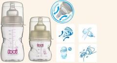 Samosterilizující láhev LOVI 250 ml