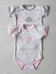 Body krátký rukáv medvídek Baby Service vel. 56 - 86