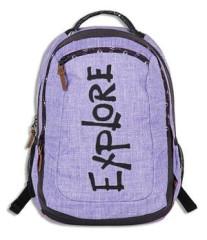 Studentský batoh CLASSIC VIKI purple