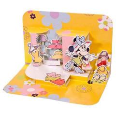 Blahopřání 3D Disney Minnie na nákupech