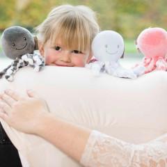 Nattou První hračka miminka chobotnička PIU PIU Lapidou