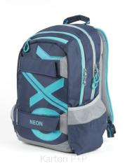 Studentský batoh OXY Sport BLUE LINE Tyrkys f419cad36f